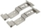 Licence plate clamp Stainless steel Kit 2 Pcs  (1060860) - universal