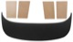 Interior panel Hat shelf black Vinyl  (1061855) - Volvo P1800