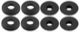 Floor accessory mats Synthetic material black