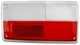 Lens, Combination taillight left  (1063465) - Volvo 140, 164, 200