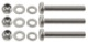 Screw kit, Socket Trailer hitch 7 terminal Stainless steel  (1063514) - universal