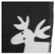 Fleece blanket Elk grey-white