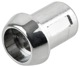 Sleeve, Lock cylinder for Tailgate chrome 1213269 (1064698) - Volvo 140, 200