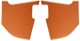 Interior panel A-pillar brown Kit for both sides  (1066333) - Volvo P1800ES