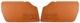 Türverkleidung braun Satz für beide Seiten  (1066334) - Volvo P1800ES