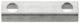 Sicherungsblech Bremsschlauch Hinterachse 8991739 (1066459) - Saab 90, 900 (-1993), 99