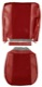 Upholstery Front seat red Kit for one Seat  (1066484) - Volvo PV