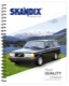 Writing pad Volvo 240 DIN A5