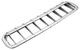 Grille air intake chromed Aluminium 665291 (1066845) - Volvo P1800, P1800ES