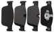 Brake pad set Front axle 31423652 (1067193) - Volvo S90 V90 (2017-), V60 (2019-), V90 XC, XC60 (2018-)