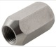 Wheel nut Stainless steel Longnut 1272648 (1067291) - Volvo 120 130 220, 140, 164, 200, P1800, P1800ES, PV, PV P210