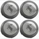 Wheel Center Cap Elk for Genuine Light alloy rims Kit  (1068317) - Volvo 200, 700, 850, 900, C30, C70 (2006-), C70 (-2005), S40 (-2004), S40 V50 (2004-), S60 (2019-), S60 (-2009), S60, V60, S60XC, V60XC (2011-2018), S70 V70 V70XC (-2000), S80 (2007-), S80 (-2006), S90 V90 (2017-), S90 V90 (-1998), V40 (2013-), V40 XC, V60 (2019-), V60 XC (19-), V70 P26, XC70 (2001-2007), V70 XC70 (2008-), V90 XC, XC40, XC60 (2018-), XC60 (-2017), XC90 (2016-), XC90 (-2014)