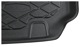 Trunk mat Synthetic material black