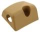Abdeckkappe, Rückenlehne Rücksitzbank links beige 1244975 (1070204) - Volvo 200