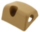 Cover, Back rest Backseat bench right beige 1244976 (1070205) - Volvo 200