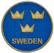 Patch Sweden / Sverige round  (1080964) - universal