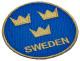 Patch Sweden / Sverige round