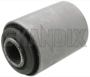 Bushing, Suspension Rear axle round 672226 (1000095) - Volvo 120 130, 140, 164, 220, P1800 - 1800e bushing suspension rear axle round bushings chassis p1800e Own-label      arm axle body panhard rear rod round support torque