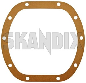 Gasket, Differential 1377332 (1000205) - Volvo 120 130 220, 140, 164, 200, 700, 900, P1800, P1800ES, PV - 1800e brick gasket differential p1800e seal Own-label      axle cover differential for gasket housing rigid spicer system vehicles with