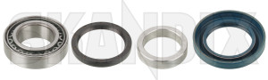 Wheel bearing Rear axle fits left and right  (1000719) - Volvo 140, 164, 200, 700, P1800, P1800ES - 1800e p1800e wheel bearing rear axle fits left and right Own-label and axle etc fits for left rear right rigid vehicles with