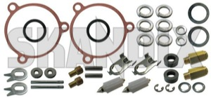 Repair kit, Carburettor SU HS6 276278 (1001125) - Volvo 120 130 220, 140, P1800, PV P210 - 1800e carburetter p1800e repair kit carburettor su hs6 Own-label 6 carburetor carburettor double dual hs hs6 stage su twin two twostage