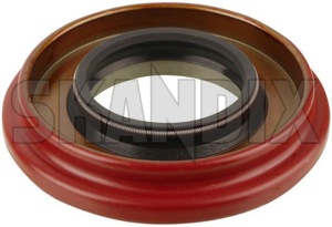 Radial oil seal, Differential 9143317 (1001131) - Volvo 120 130 220, 140, 164, 200, 700, 900, P1800, P1800ES, PV - 1800e brick p1800e radial oil seal differential Own-label axle differential inlet rear rearaxle rearaxledifferential salisbury spicer spiceraxle spicerdifferential spicerrearaxle spicerrearaxledifferential system