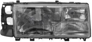 Hauptscheinwerfer rechts H4 mit Nebelscheinwerfer 3518253 (1002347) - Volvo 700, 900 - 700 700er 740 740er 744 745 760 760er 764 765 7er 900er 940 940er 944 945 960 960er 960i 960ii 964 965 9er estate frontscheinwerfer hauptscheinwerfer rechts h4 mit nebelscheinwerfer klarglas kombi limousine scheinwerfer sedan stufenheck wagon Hausmarke fuer gluehbirne gluehlampe h4 halogen leuchtmittel leuchtweitenregulierung mit motor nebelscheinwerfer ohne rechte rechter rechts rechtsseitig rechtsverkehr seite