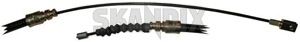 Cable, Park brake right rear Section 9157231 (1005107) - Volvo 900 - brick cable park brake right rear section Genuine axle for multilink rear right section vehicles with