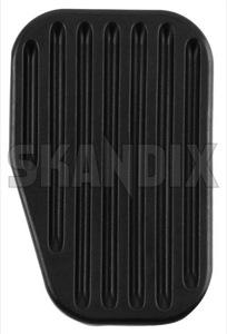 Pedal lining 3546020 (1005619) - Volvo 850, C70 (-2005), S60 (-2009), S70 V70 (-2000), S80 (-2006), V70 P26, V70 XC (-2000), XC70 (2001-2007) - pedal lining skandix clutch pedal