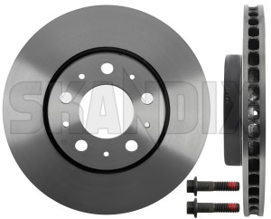 Brake disc Front axle internally vented 31262092 (1005703) - Volvo 850, 900, C70 (-2005), S70 V70 (-2000), S90 V90 (-1998), V70 XC (-2000) - brake disc front axle internally vented brake rotor brakerotors brick rotors Genuine   hole  hole 15 15inch 280 280mm 5 5  5hole 5 hole axle front inch internally mm vented