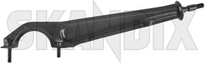Support arm right 653443 (1007373) - Volvo 120 130, P1800 - 1800e p1800e support arm right Genuine right sheet steel