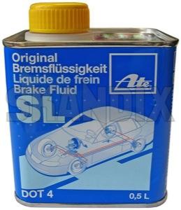 Brake fluid 0,5 l  (1008087) - universal  - brake fluid 0 5l brake fluid 05l ate 0,5 05l 0 5l 0,5 05 0 5 4 can dot l
