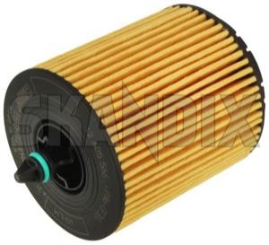 Oil filter Insert 12605566 (1008183) - Saab 9-3 (2003-), 9-5 (2010-) - oil filter insert oilfilter Genuine elements filterelements insert seal without