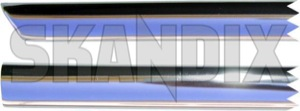 Drip rail moulding left front Section 659994 (1008297) - Volvo 120 130 220 - drip rail moulding left front section trim moulding Genuine anodised anodized front left section