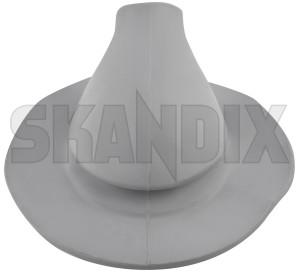 Gear lever gaiter grey 659701 (1008569) - Volvo 120 130 220, P445 P210 - gear lever gaiter grey selector gaiter shift stick collar shifter boot Own-label grey