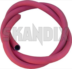 Heater hose red Metre 13569 (1008944) - Volvo 120 130, PV - heater hose red metre Own-label metre red