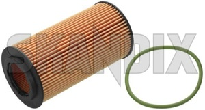 Oil filter Insert 8692305 (1009274) - Volvo C30, C70 (2006-), S40 V50 (2004-), S60 (2011-2018), S60 (-2009), S80 (2007-), S80 (-2006), V40 (2013-), V40 XC, V70 (2008-), V70 P26, XC60 (-2017), XC70 (2001-2007), XC70 (2008-), XC90 (-2014) - oil filter insert oilfilter skandix elements filterelements insert seal with