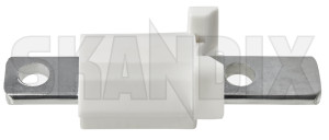 Steering stop limit Control arm 31212190 (1010362) - Volvo S60 (-2009), S80 (-2006), V70 P26, XC70 (2001-2007) - steering stop limit control arm Own-label 215/55 21555 215 55 arm control r16 white