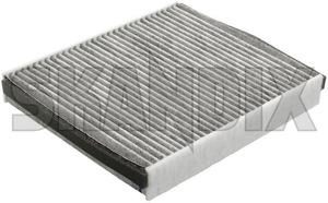 Innenraumfilter Multifilter 30780377 (1011465) - Volvo C30, C70 (2006-), S40 V50 (2004-) - aktivkohlefilter cabrio coupe filter frischluftfilter innenlueftung innenraumfilter multifilter innenraumluftfilter kabinenluftfilter kohlefilter luftwaescher partikelfilter pollefilter pollenfilter s40 s40ii staubfilter v50 skandix aktivkohlefilter multifilter
