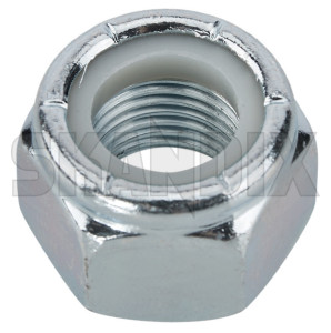 Lock nut with plastic-insert with UNF inch Thread 9/16