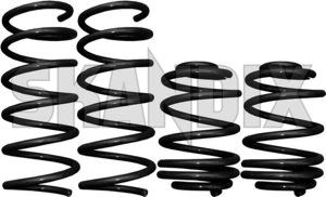 Tieferlegungssatz 35 mm  (1013189) - Saab 9-3 (-2003) - 93 93 9 3 coupe estate fahrwerksfedersatz federnsatz federsatz kombi schraubenfedersatz senksatz sportfahrwerk tieferlegungsfahrwerk tieferlegungsfedern tieferlegungssaetze tieferlegungssatz 35mm wagon lesjoefors 35 35mm mm ohne tuevgutachten tuev gutachten