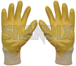 Gloves  (1015817) - universal  - gloves Own-label 24 24cm 9 cm coated l nitril sahara