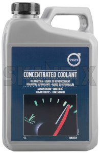 Antifreeze 4 l Concentrate 31439721 (1015963) - Volvo universal - antifreeze 4l concentrate engine coolants radiators Genuine 4 4l canister concentrate l