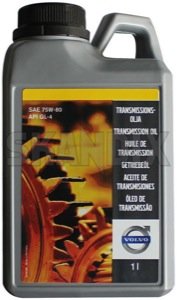 Transmission oil Manual transmission 1 l 75W-80 1161745 (1015971) - Volvo universal ohne Classic - gear oil gearbox fluid gearbox oil gearboxfluid gearboxoil gearoil manual transmission fluid tranny fluid tranny oil trannyfluid trannyoil transmission oil transmission oil manual transmission 1 l 75w 80 transmission oil manual transmission 1 l 75w80 transmissionoil Genuine 1 1l 75 75w80 75w 80 canister full gl4 gl 4 l manual oil synthetic transmission