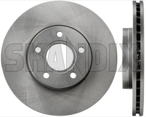 Volvo C30//S40//V50 Front Brake Discs And Pads 278mm