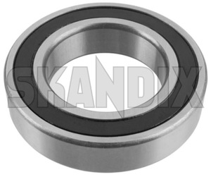Intermediate bearing, Drive shaft front right 12785906 (1016643) - Saab 9-3 (-2003), 9-3 (2003-), 9-5 (-2010), 9000 - intermediate bearing drive shaft front right skandix front right