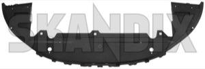 Air guide Bumper front 30655172 (1017575) - Volvo S80 (2007-), V70 (2008-) - aerofoils air baffle plates air guide bumper front airfoils deflectors vanes ventilation plates Genuine bumper front