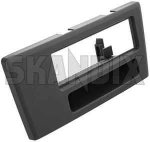 Mounting frame radio for DIN radio  (1017770) - Volvo S60 (-2009), V70 P26, XC70 (2001-2007) - mounting frame radio for din radio Own-label 7736 din for radio