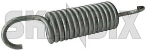 Spring, Seat Seat back, Front seat 1264531 (1018084) - Volvo 200, 700 - car seats springs cushion springs seat core seat frame springs spring seat seat back front seat upholstery springs Genuine 2,7 27 2 7 2,7 27mm 2 7mm 41 41mm 90° back back  front mm seat spring tension twisted