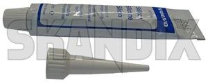 Plastic Adhesive 1161758 (1018280) - Volvo 700, 900 - plastic adhesive synthetic material Genuine for lens repair taillight tube